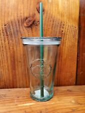 Starbucks Cold Cup  Recycled Glass With Straw, Fast Shipping