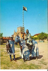 Cartolina AREZZO GIOSTRA DEL SARACINO CAVALIERE DI PORTA CRUCIFERA  anni '70