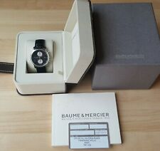 Men's Stainless Steel Baume & Mercier Automatic Chronograph + Boxes & Paperwork