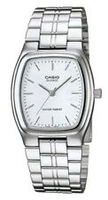 Casio MTP1169D-7A Men's Standard Stainless Steel White Dial Rectangular Watch