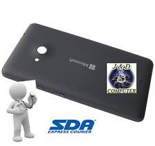 SCOCCA COVER COPRIBATTERIA Per Nokia LUMIA 535 BLACK NERA ORIGINALE