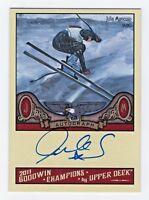 2011 Goodwin Champions Autograph Julia Mancuso Olympic Alpine Skiing USA