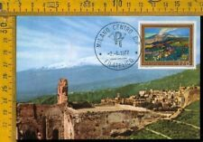 Repubblica Cartolina FDC MAXIMUM  E 842 Catania Etna