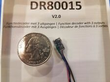 Digikeijs DR80015 Function Decoder V2.0 - 3 Outputs - Multiple Lighting Effects