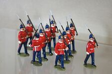 DORSET SOLDIERS ZULU WAR BRITISH INFANTRY of the LINE MARCHING at the SLOPE oh