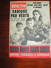 Détective 1961 TERTRE Saint-Ghislain SèTE PICASSO