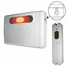 Wireless Door Bell Chime with LED Flasher NEW 111-40