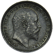 More details for 1902 matt proof maundy twopence - edward vii british silver coin - superb