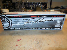 MATCO TOOLS 1:24 DIE CAST TOP FUEL DRAGSTER LIMITED EDITION 2001 TONY SCHUMACHER