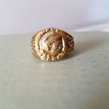 Authentic Vintage Davy Crockett Metal Ring early 60's