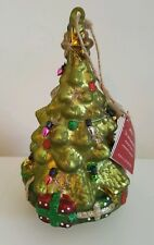 New In Box Pottery Barn 6 Inch Lit Christmas Tree Ornament Holiday (Last 4)
