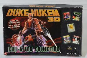 Duke Nukem 3D Kill-A-Ton Collection PC Game Big Box Set Classic Shooter