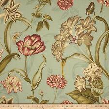Waverly Nylon Taffeta Somerset Botanic Mist Fabric 2 Yards