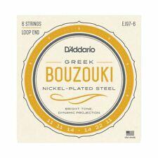 GREEK BOUZOUKI STRINGS - D'ADDARIO EJ97-6 - 6 STRINGS - LOOP END