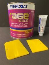 Evercoat Rage Gold 112 Premium Lightweight Body Filler Hardener Amp Spreaders