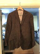 Moss bros Linen Suit Grey