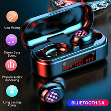 TWS Mini Bluetooth 5.0 Headset Wireless Earphones Stereo Headphones Earbuds 2021