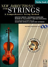 F.J.H. Music Co. Sb303Vn New Directions for Strings Violin Book 1