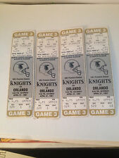 sports collectibles- USED TICKETS