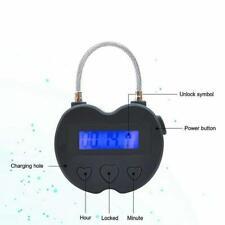 Time Lock LCD Display Multifunction Travel Electronic Timer Waterproof USB