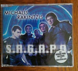 CD Eurovision Greece 2002 S. A. G. A. P. O MICHALIS RAKINTZIS