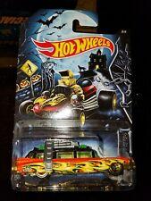 Hot Wheels Ghostbusters ECTO-1 Happy Halloween Kroger Exclusive RARE DieCast Car