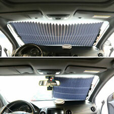Auto Car Retractable Window Sun Shade Visor Folding Front Windshield Block Cover
