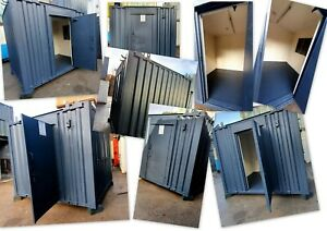 10ft x 8ft Anti Vandal Office Container - Choice Of Colour - Ex Salford
