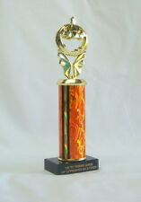 HALLOWEEN TROPHY, PUMPKIN CARVING   COSTUME PARTY   PUMPKIN #5 OR FREE LETTERING