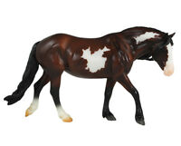 Breyer Classics Horse Model BAY PINTO PONY Toy 920
