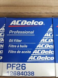 12 NEW Genuine GM ACDelco Engine Oil Filter PF26 PF26F Case