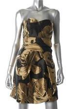DKNY Black/Gold Club Wear/Cocktail Dress Size 2 NWT $395