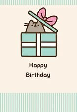 PUSHEEN HAPPY BIRTHDAY CARD NEW GIFT