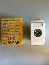 VIMAR IDEA - PRESA TV-RD-SAT DIRETTA BIANCA 16306.01.b