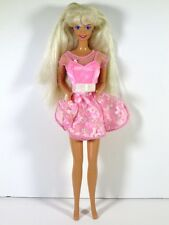 DRESSED BARBIE DOLL IN MY FIRST TEA PARTY DRESS