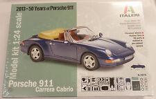 Italeri 1/24 Porsche 911 Carrera Cabrio Model Kit 3679