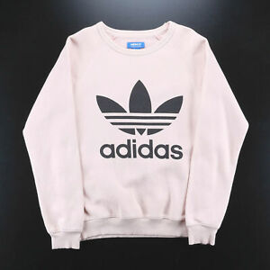 ADIDAS  Pink Sports Crew Neck Sweatshirt Womens XS