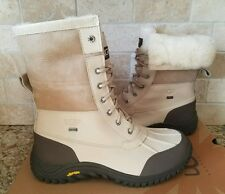 UGG Adirondack II Sand Waterproof Leather Fur Snow Boots Size US 6 Womens