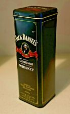 JACK DANIELS EMPTY COLLECTABLE BOTTLE TIN - CONTAINER HOLDER STORAGE