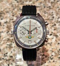 POLJOT Sturmanskie 3133 Vintage Orologio SOVIETICO RUSSO URSS Cronografo