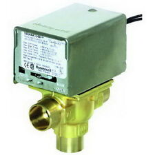 """Honeywell V8044E1011 3/4"""" Sweat Normally Closed Diverting Zone Valve (18"""" Leads)"""