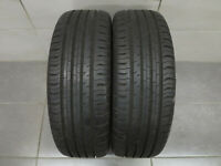 2x Sommerreifen Continental Eco Contact 5 195/55 R16 91V / DOT 1815 / 8mm