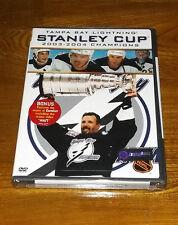 TAMPA BAY LIGHTNING NHL Stanley Cup Champions 2004 (DVD, 2004)