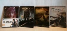 Steel book  Bellissime per Videogames Final Fantasy - Dishonored - Darkn. II ...