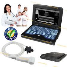 Portable Laptop Machine Digital Ultrasound Scanner75mhz Linear Probe Cms600p2