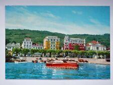 STRESA Lago Maggiore motoscafo riva Verbano Cusio Ossola vecchia cartolina