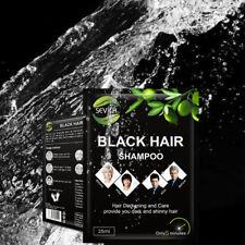5 bags Permanent Hair Dye Color Blackening Shampoo for Men Women Herbal Natural
