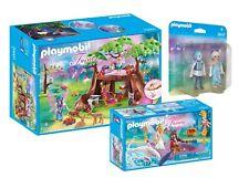 PLAYMOBIL® Feen-Set: 70000 Feenboot, 70001 Feenwaldhaus, 9447 Winterfeen, neu