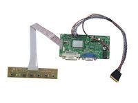 DVI VGA LCD Controller Board LVDS Kit For B101EW05 LP101WX1 1280x800 LED Screen