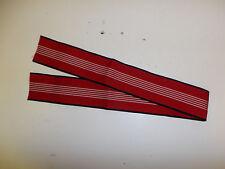 b9541 German WWII Olympic Neck Ribbon 26 x 2 1/8 inch R18A
